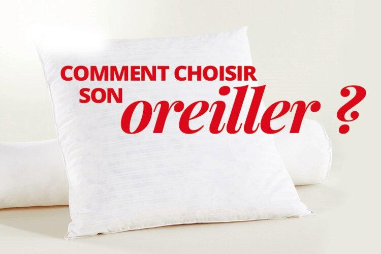 OREILLER ANATOMIQUE : COMMENT DETERMINER LA BONNE TAILLE DE SON OREILLER ?